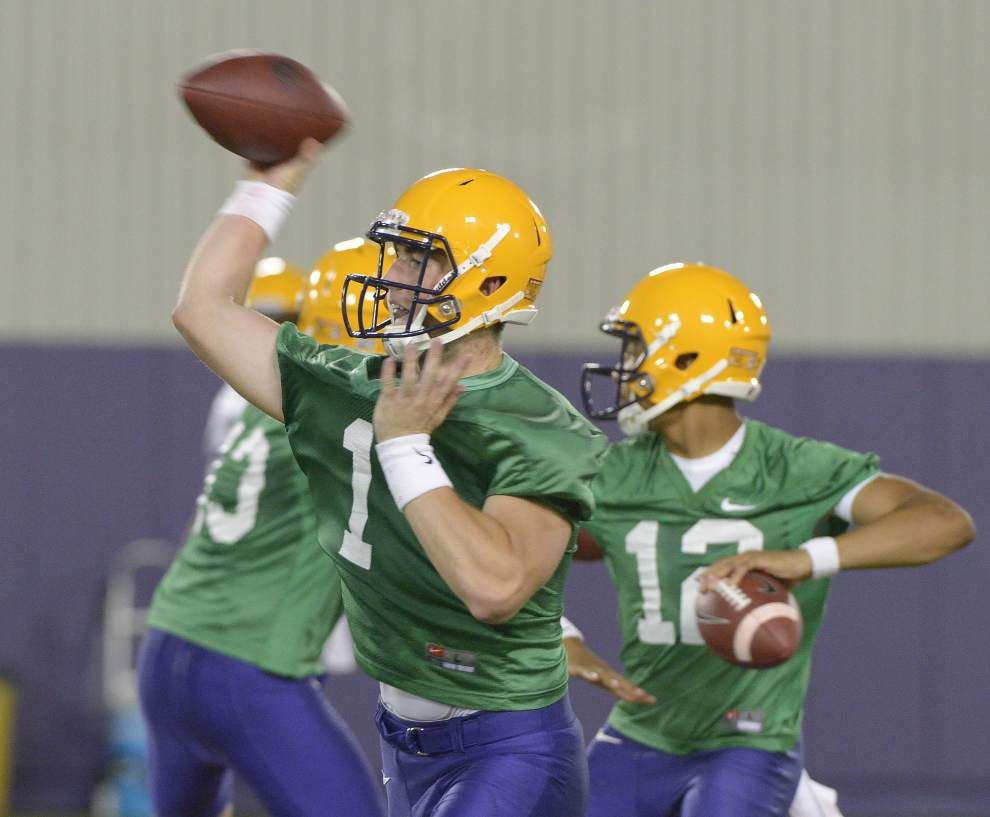 New jersey numbers for LSU football fans to learn; Six veterans make switch; new Tigers get digits _lowres