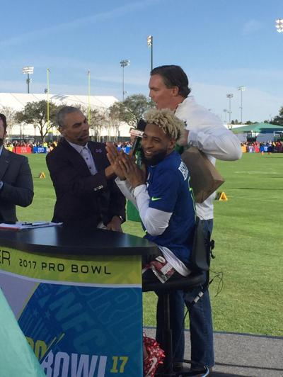 14b5031b70f Video  Odell Beckham cherishes New Orleans roots