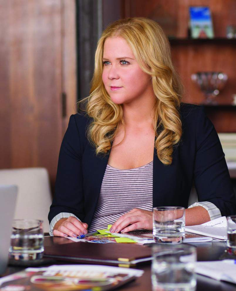 Amy + Judd = RomCom  Amy Schumer debuts in Judd Apatow comedy 'Trainwreck' _lowres