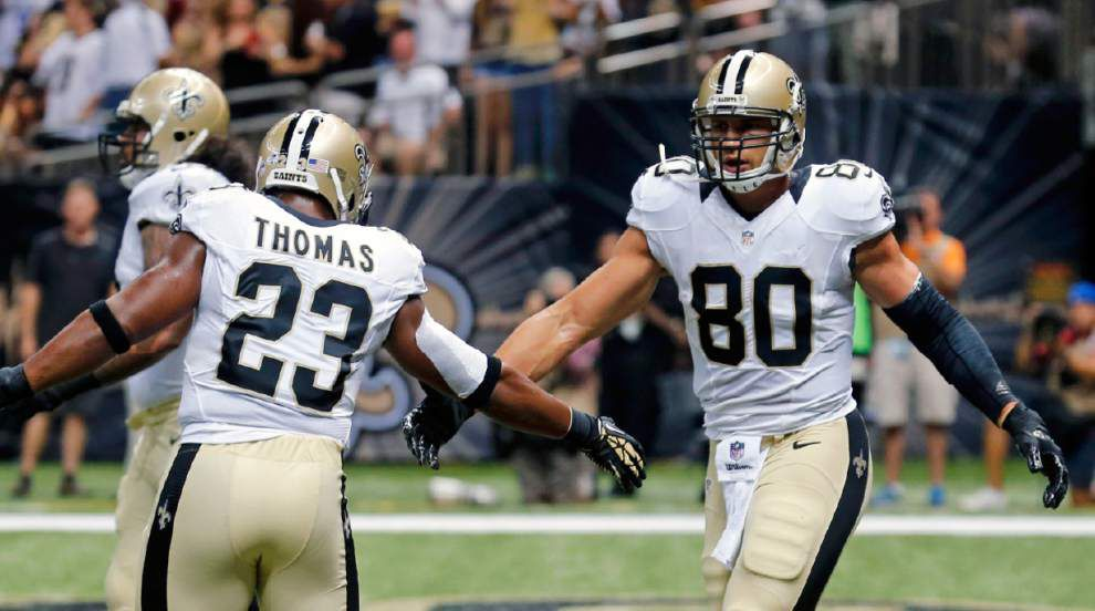 Saints defeat Titans 31-24 in second preseason game _lowres