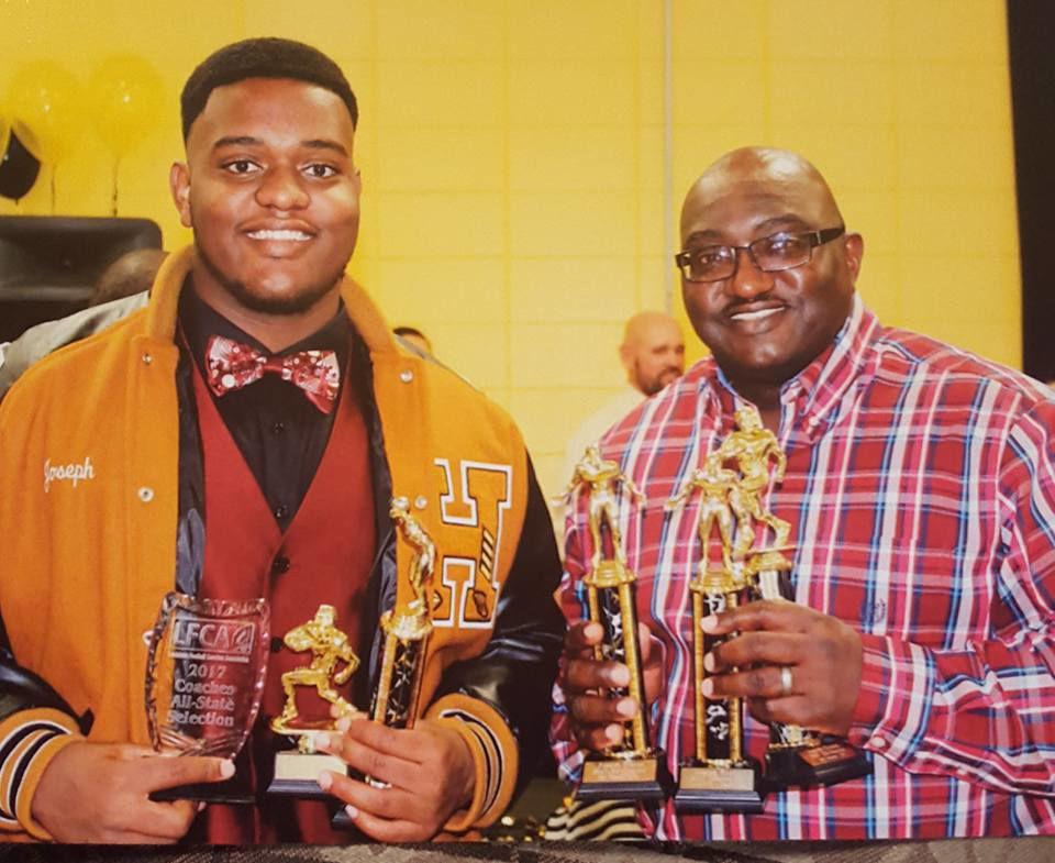 LSU: Evans trophies