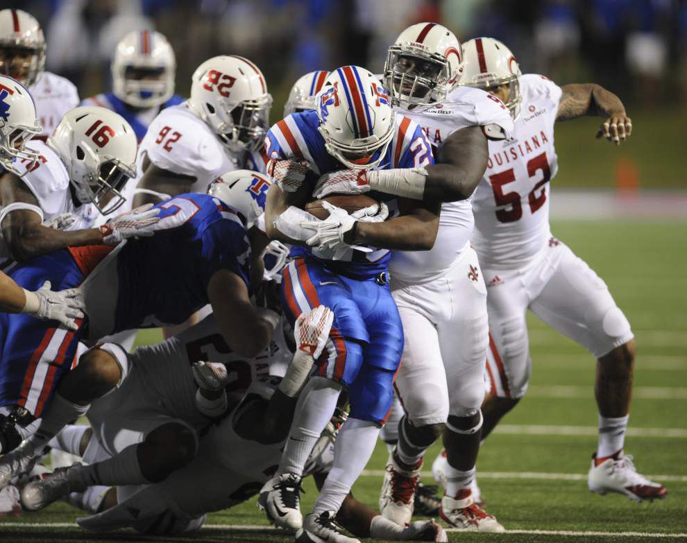 Louisiana Tech hands Cajuns 43-14 lopsided loss Saturday _lowres