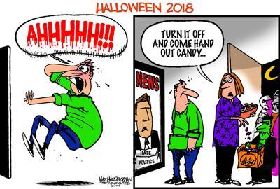 Walt Handelsman: Scary