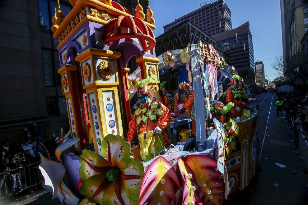 Photos: Rex reigns over Carnival, closing out New Orleans' signature holiday _lowres