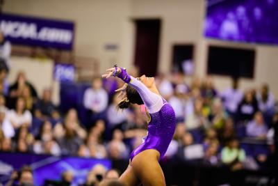LSU gymnasts post best ever score in NCAA final but still finish second to Oklahoma again