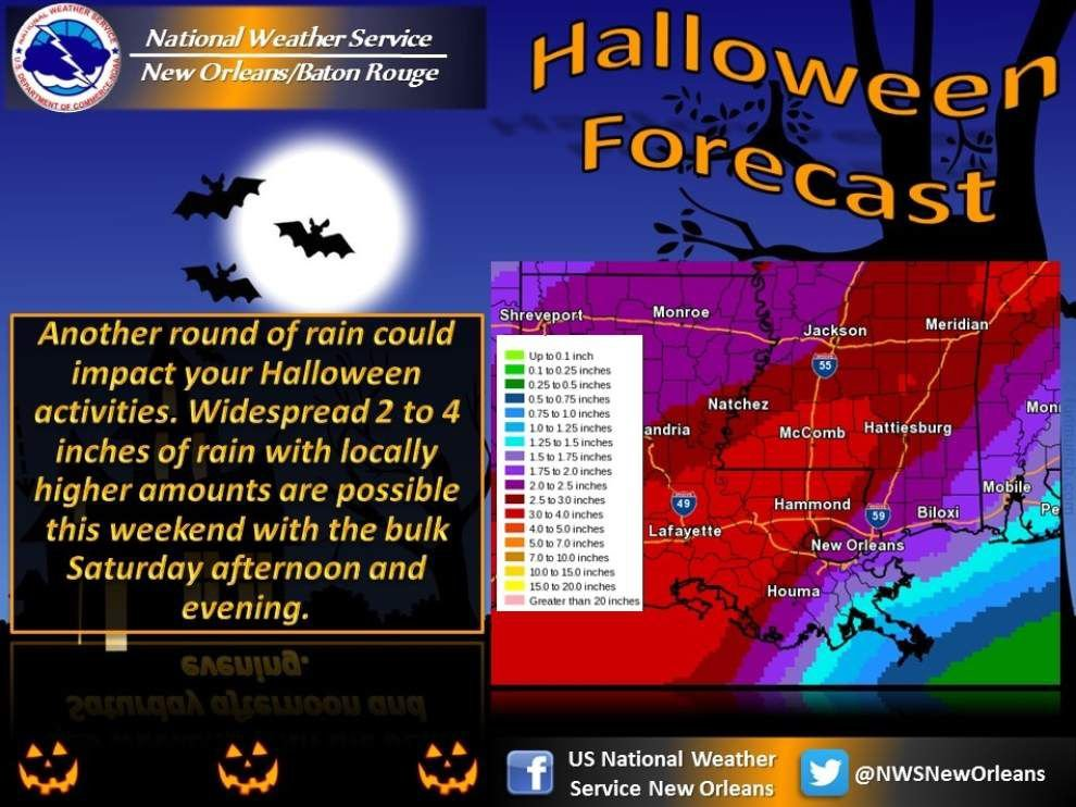See the list: Baton Rouge-area communities move trick or treating to Friday to avoid scary weather _lowres