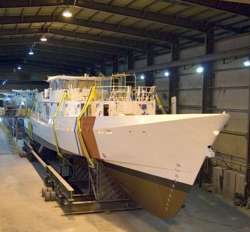 Bollinger Shipyards gets contract for remaining 26 Coast Guard cutters _lowres