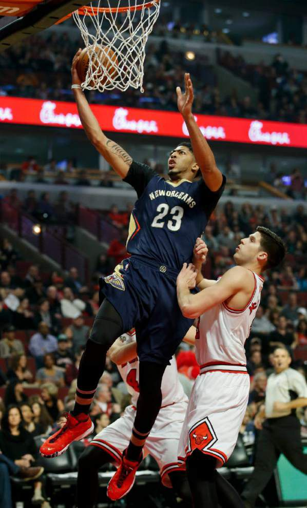 Go to the hoop: Alvin Gentry says Pelicans need Anthony Davis to 'attack the basket a little bit more' _lowres