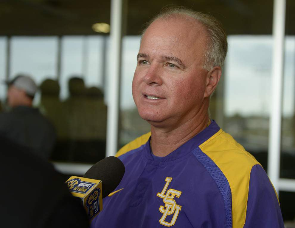 On The Record: Baseball coach Paul Mainieri on team's biggest strength, top priority and playing 'the LSU way' _lowres