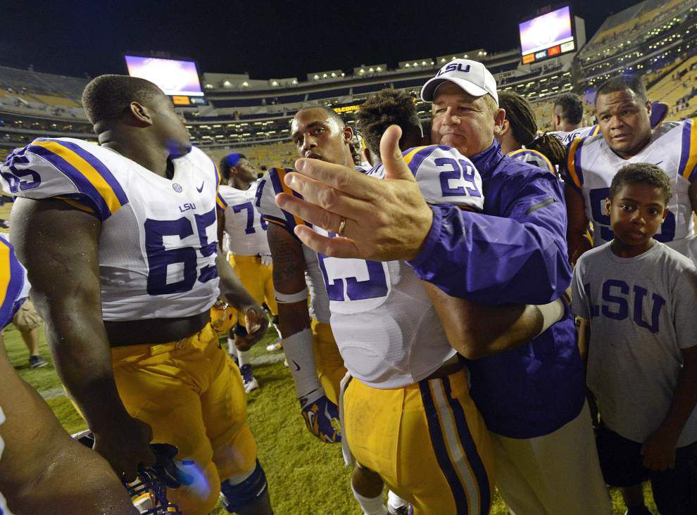 Video: LSU safety Rickey Jefferson says the Tigers coaches had them prepared for Sam Houston State _lowres