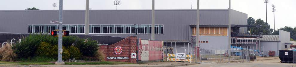 Wait nearly over for Cajuns to take over athletic facility _lowres
