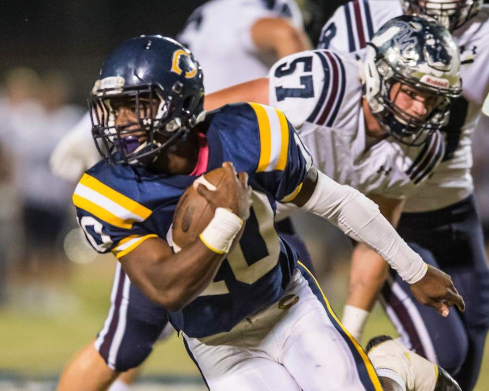 Photos: Carencro faced St. Thomas More, Lafayette High challenged Acadiana High in Acadiana prep football _lowres