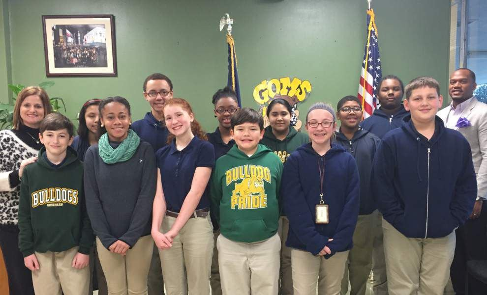 Gonzales Middle students honored for having 4.0 _lowres