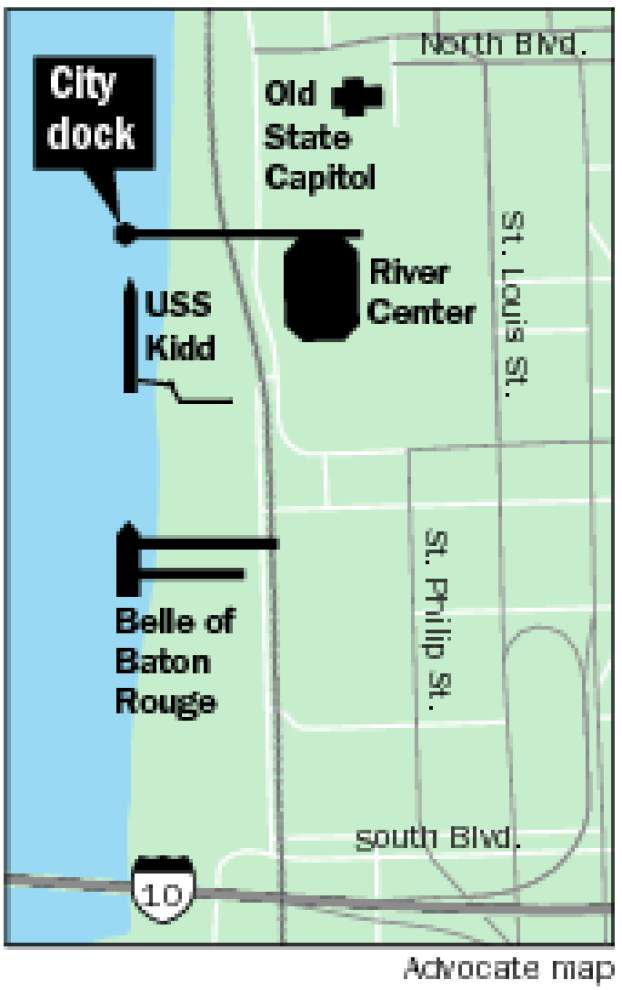 City dock expansion in the works to handle more riverboat stops in Baton Rouge _lowres