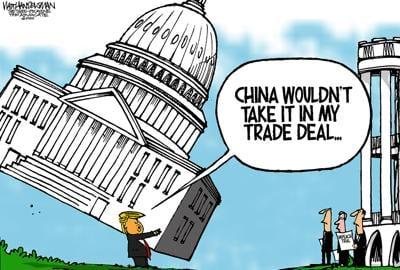 Walt Handelsman: Deal, No Deal...