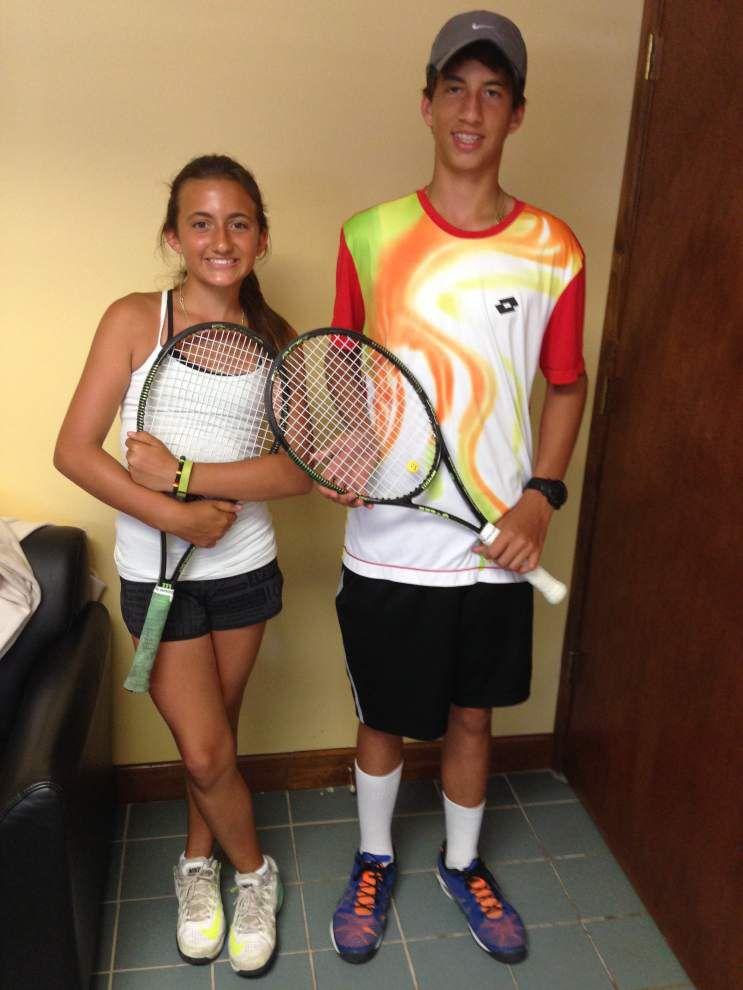 Gavriella, Zachary Smith enjoy journey tennis taking them on _lowres