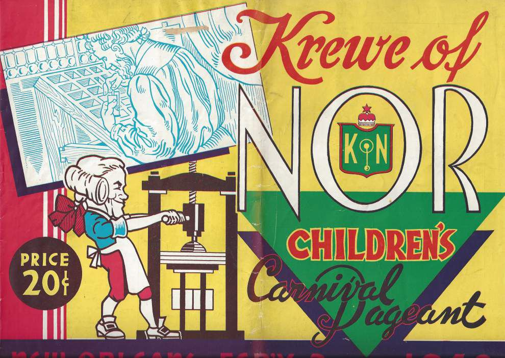 Its bawdy reputation aside, Carnival and kids go way back _lowres