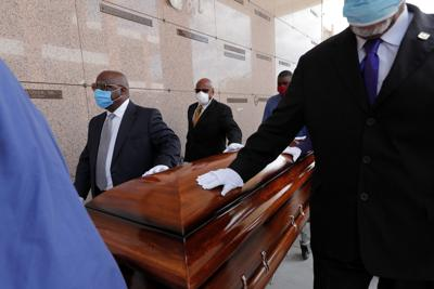 Coronavirus file photo stock of funeral precautions in New Orleans
