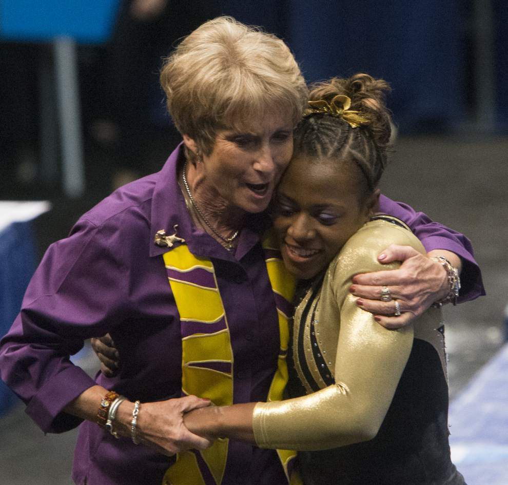 LSU's D-D Breaux named gymnastics coach of the year _lowres