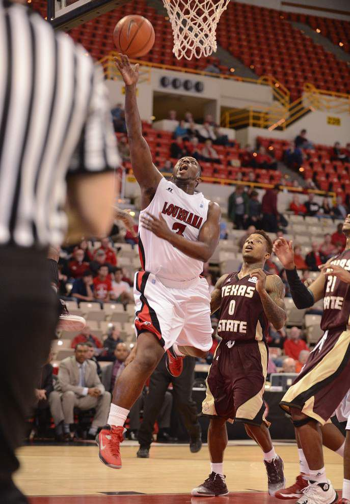 Cajuns' Xavian Rimmer hopes for opportunity as senior season winds down _lowres