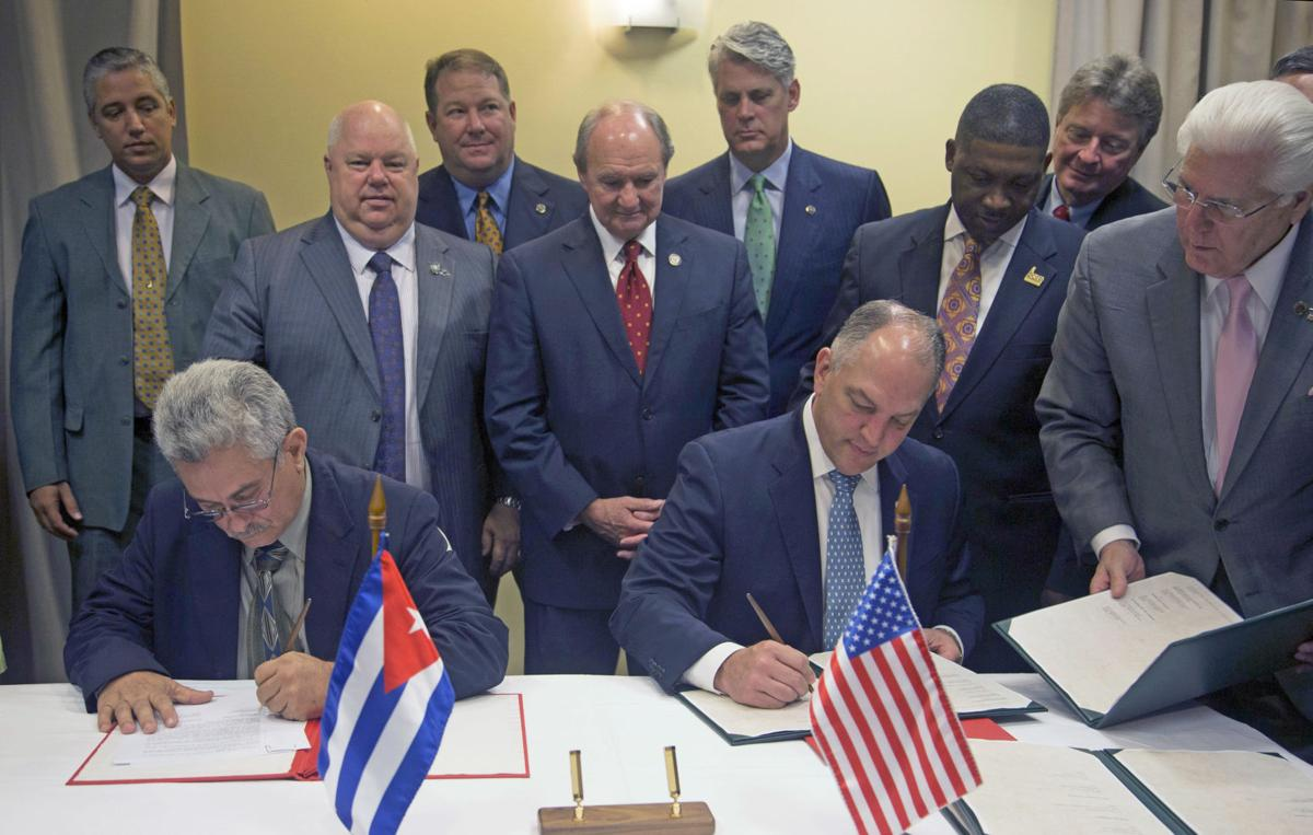 Image result for Louisiana ag trade with cuba