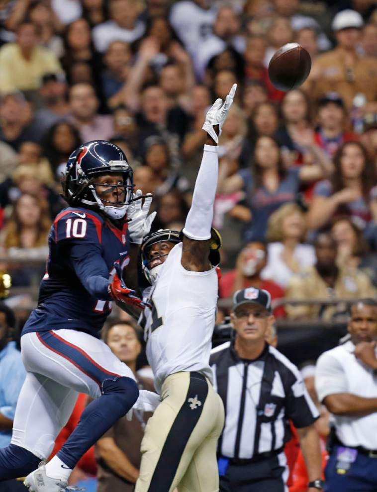 Top Saints cornerback Keenan Lewis expected to miss at least four weeks after undergoing hip surgery _lowres