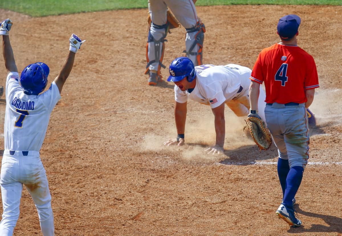 SEC Auburn LSU Baseball