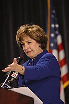 Former Gov. Kathleen Blanco says Texas lacked 'sensible evacuation formula' for Harvey_lowres