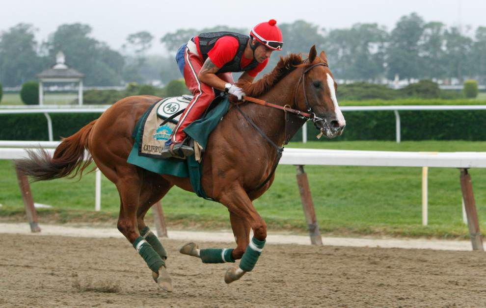 California Chrome set for that long run at history at Belmont _lowres