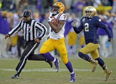 LSU running back Leonard Fournette is an early favorite to win the Heisman Trophy next year _lowres