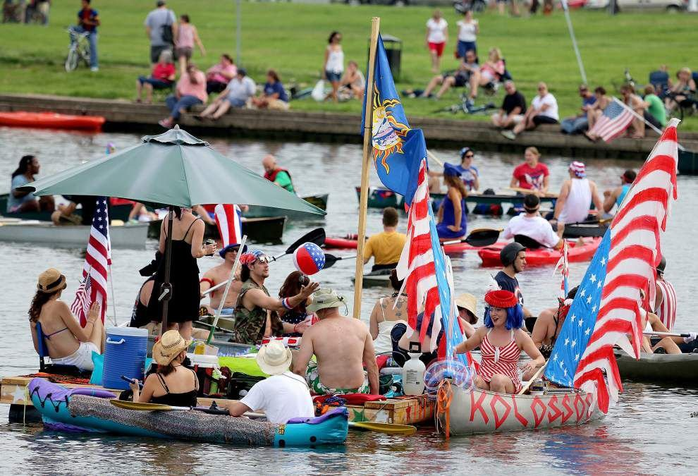 Independence Day fun starts early, reaches colorful crescendo over river _lowres