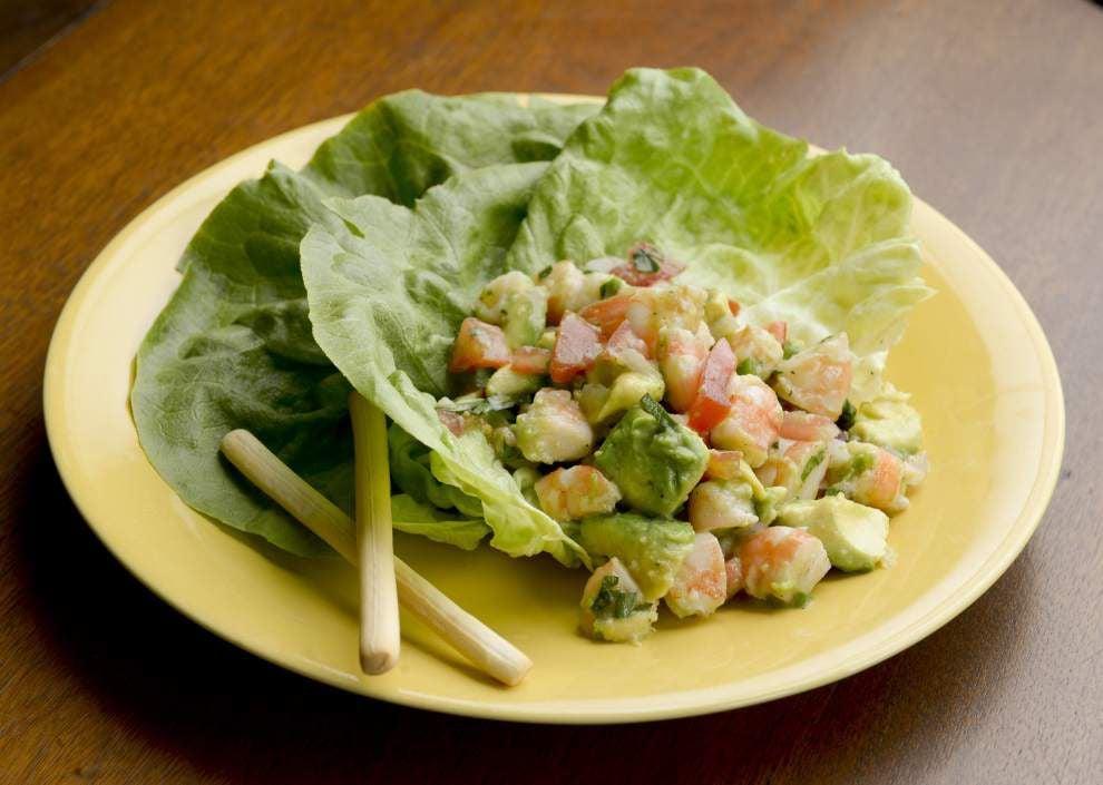 Lime, Shrimp and Avocado Salad _lowres