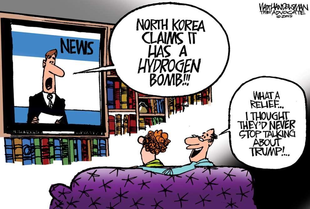 Walt Handelsman: Bad news... Good news _lowres