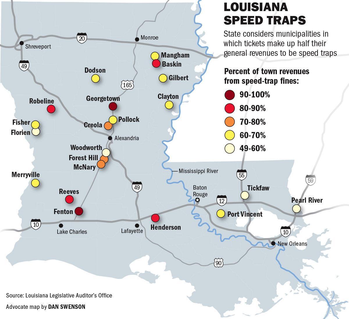030319 Louisiana Speed Trap Towns
