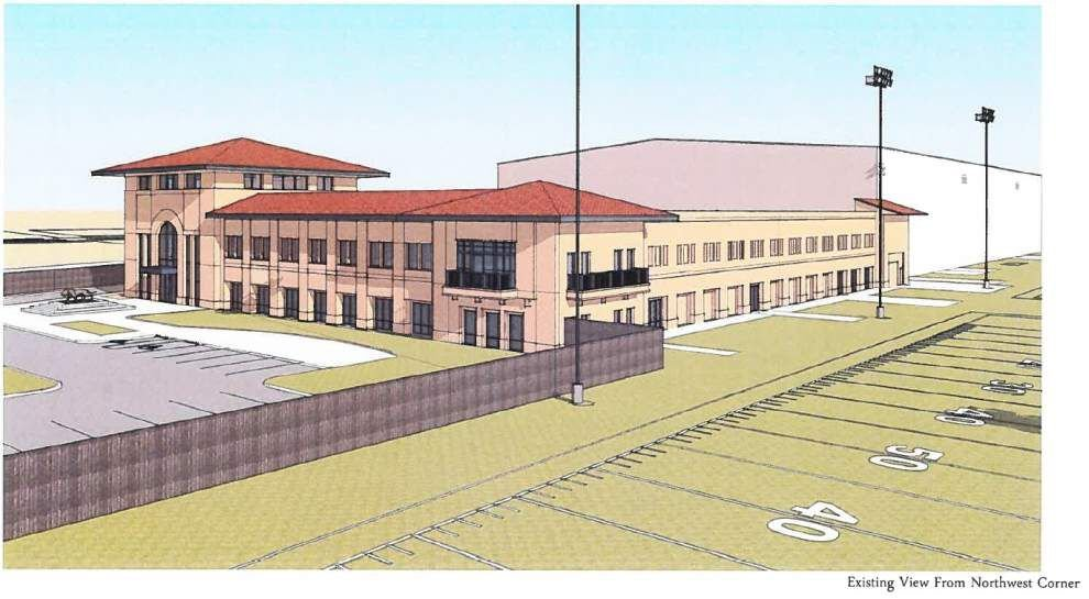 LSU football operations facility to get expanded, renovated; Nutrition center to break ground this fall _lowres