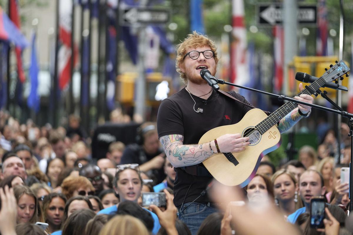Ed Sheeran copy for Red
