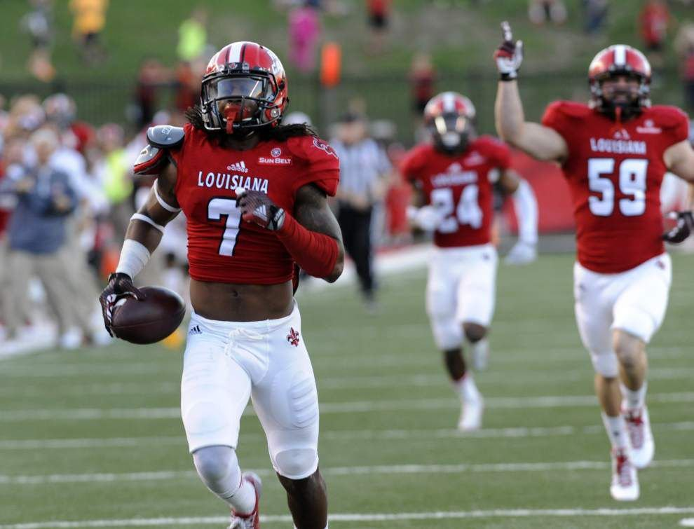 Johnson: Ragin' Cajuns receiver Jamal Robinson returns from injury, looks right at home _lowres