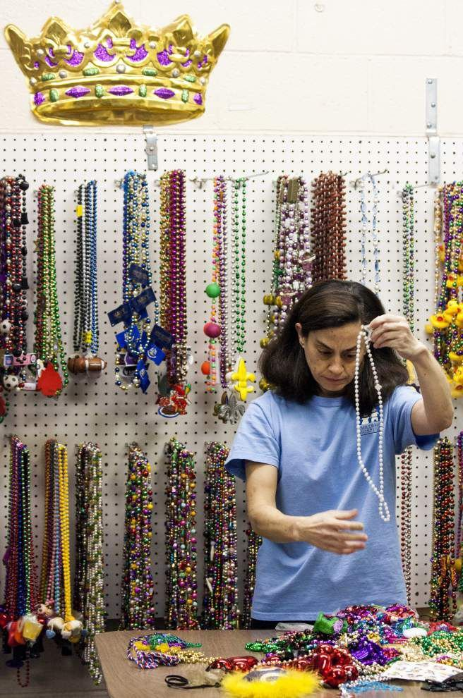 Mardi Gras beads can be dropped off for Arc year-round _lowres