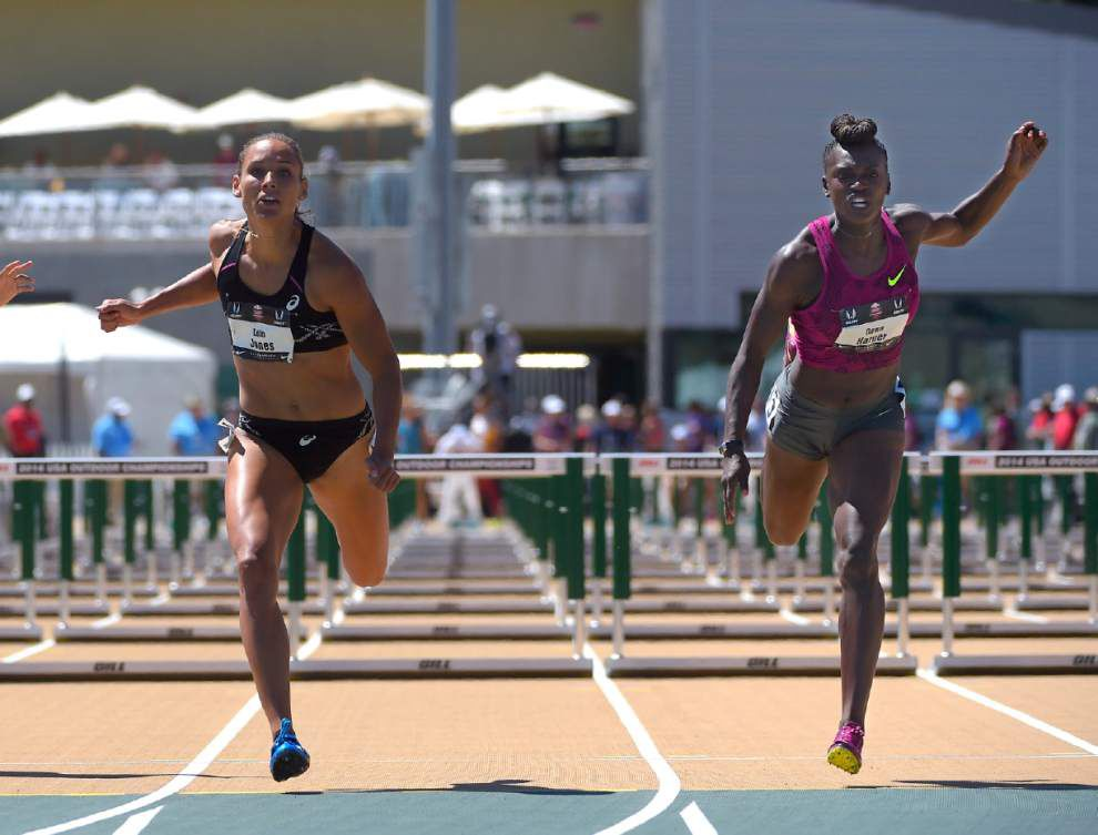 Briefs: Lolo Jones, Jasmin Stowers shine in hurdles; Justin Walker makes 200-meter semifinals _lowres