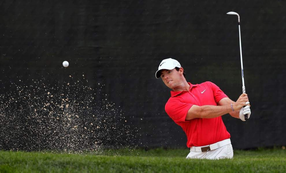 Rory McIlroy stumbles to 74 at Barclays _lowres