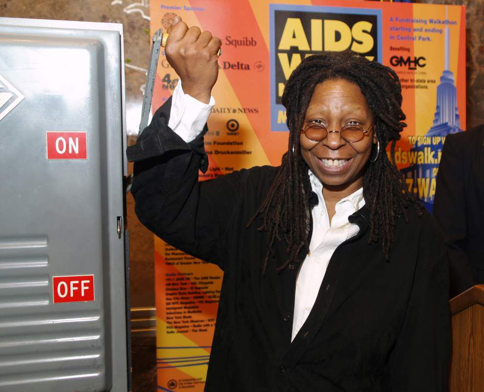 Whoopi Goldberg plans appearance at Saenger Theatre in June _lowres