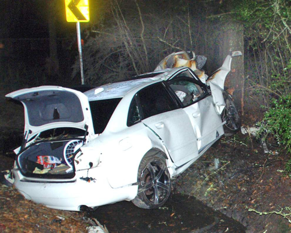 Ponchatoula car crash claims life of Hammond man _lowres