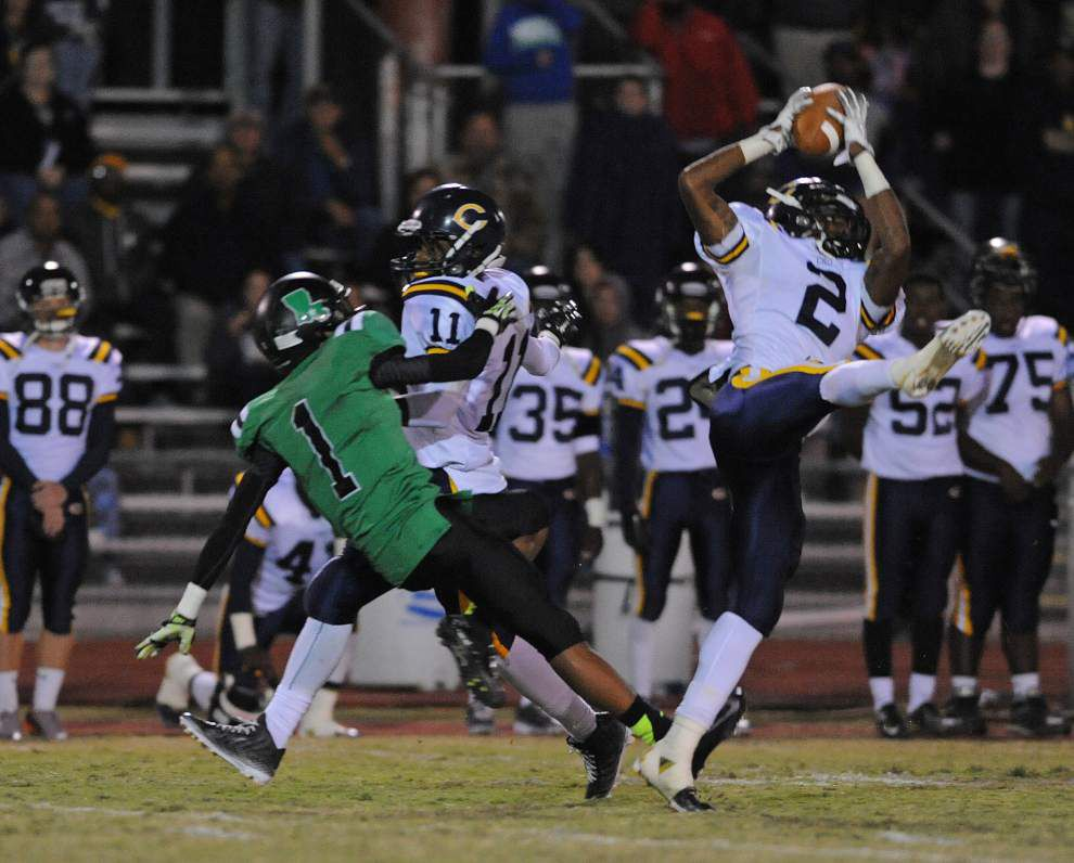 D'Ronne Littleton's punt return gives Carencro win over Lafayette _lowres