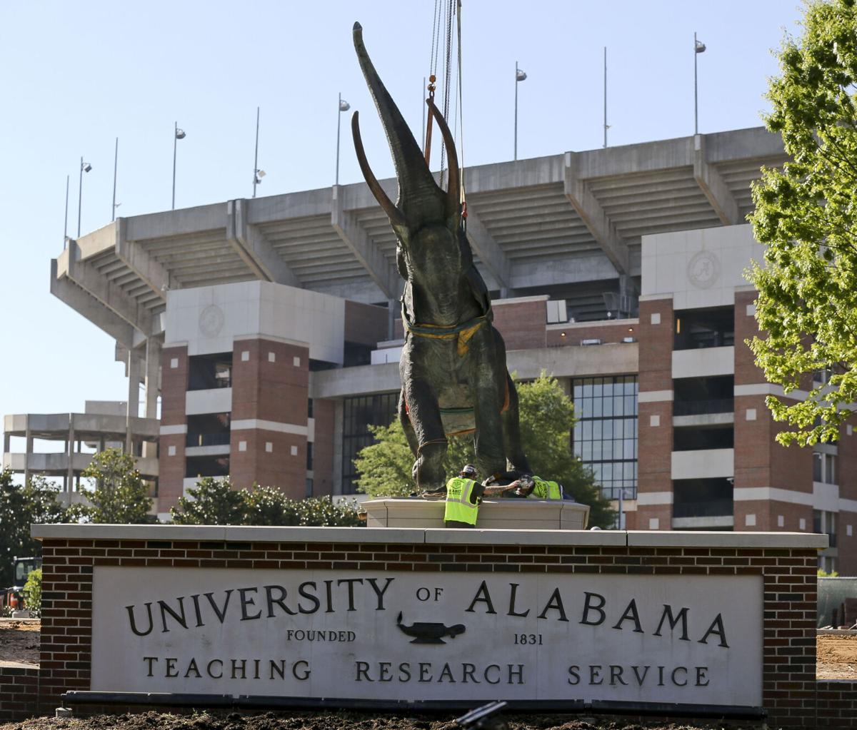 Alabama Tuska Statue