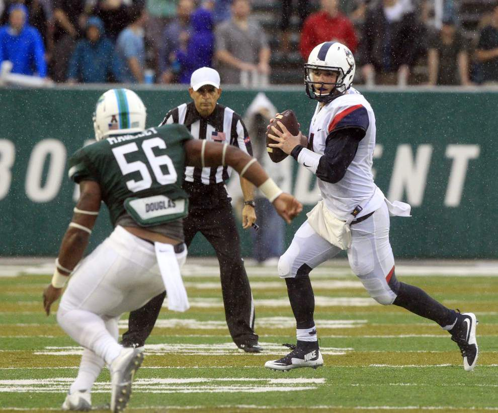 Curtis Johnson says play calling not cause of Tulane's tumble against UConn _lowres
