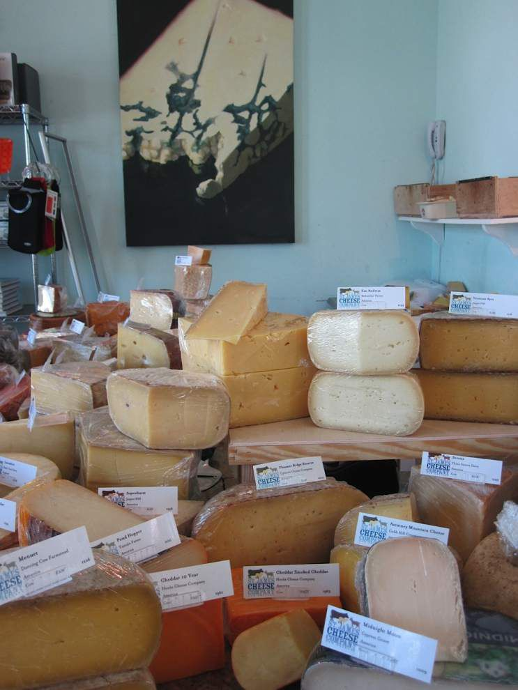 """Curd is the word: St. James Cheese Co. to open downtown Tuesday with shop, cafe and """"cheese bar"""" _lowres"""