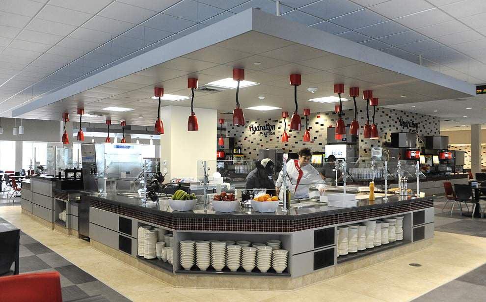 UL-Lafayette's new $40 million student union opens | News ... on