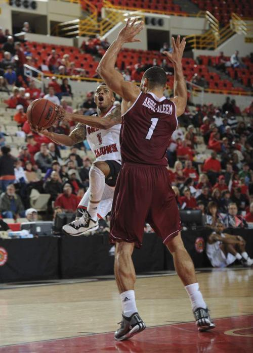 Nothing's at stake today, but Bob Marlin says his Ragin' Cajuns will 'play to win' against Arkansas State _lowres