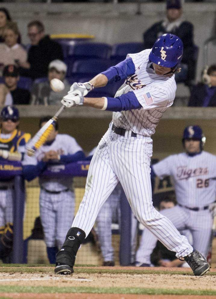 A day after Nicholls State loss, LSU gets new batting order, new mindset at the plate _lowres