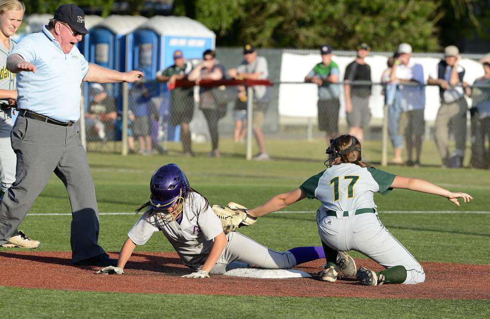 Cedar Creek shuts out Ascension Catholic in 1A softball final _lowres